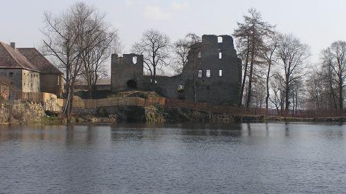 Burgruine Starý Rybník